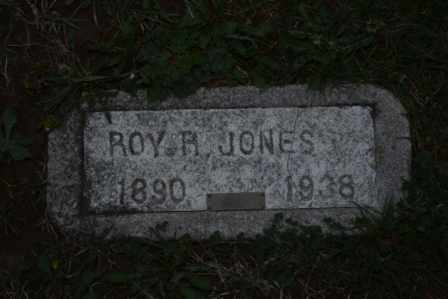 JONES, ROY R - Sullivan County, Tennessee | ROY R JONES - Tennessee Gravestone Photos