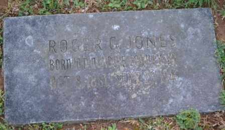 JONES, ROGER G - Sullivan County, Tennessee   ROGER G JONES - Tennessee Gravestone Photos
