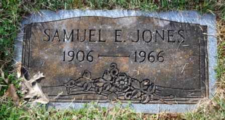 JONES, SAMUEL E - Sullivan County, Tennessee   SAMUEL E JONES - Tennessee Gravestone Photos