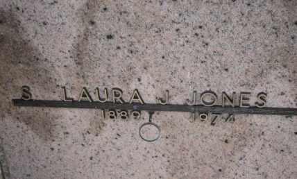 JONES, S LAURA J - Sullivan County, Tennessee | S LAURA J JONES - Tennessee Gravestone Photos