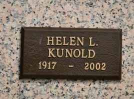 KUNOLD, HELEN L - Sullivan County, Tennessee | HELEN L KUNOLD - Tennessee Gravestone Photos