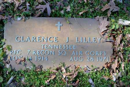LILLEY (VETERAN), CLARENCE J - Sullivan County, Tennessee | CLARENCE J LILLEY (VETERAN) - Tennessee Gravestone Photos