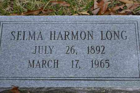 HARMON LONG, SELMA - Sullivan County, Tennessee | SELMA HARMON LONG - Tennessee Gravestone Photos