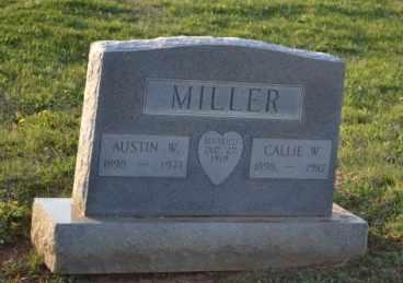 MILLER, AUSTIN W - Sullivan County, Tennessee | AUSTIN W MILLER - Tennessee Gravestone Photos
