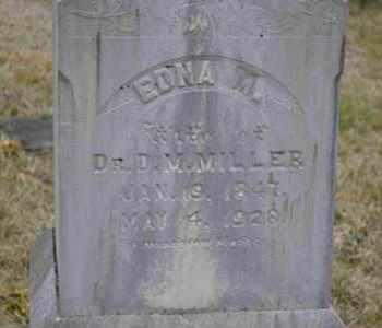 MILLER, EDNA M - Sullivan County, Tennessee | EDNA M MILLER - Tennessee Gravestone Photos