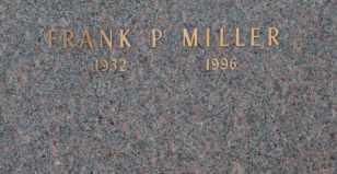 MILLER, FRANK P - Sullivan County, Tennessee | FRANK P MILLER - Tennessee Gravestone Photos
