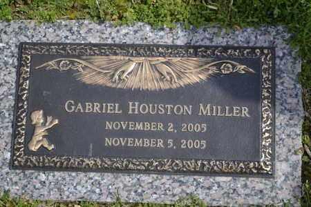 MILLER, GABRIEL HOUSTON - Sullivan County, Tennessee | GABRIEL HOUSTON MILLER - Tennessee Gravestone Photos