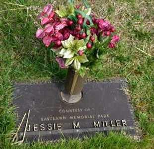 MILLER, JESSIE M - Sullivan County, Tennessee | JESSIE M MILLER - Tennessee Gravestone Photos