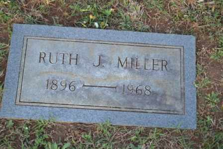 MILLER, RUTH J - Sullivan County, Tennessee | RUTH J MILLER - Tennessee Gravestone Photos