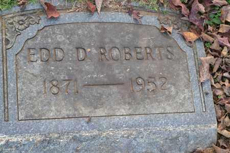 ROBERTS, EDD D - Sullivan County, Tennessee | EDD D ROBERTS - Tennessee Gravestone Photos
