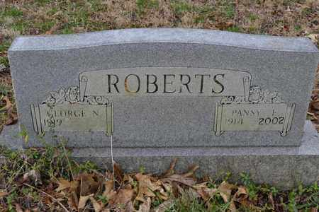 ROBERTS, PANSY E - Sullivan County, Tennessee | PANSY E ROBERTS - Tennessee Gravestone Photos