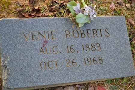 ROBERTS, VENIE - Sullivan County, Tennessee | VENIE ROBERTS - Tennessee Gravestone Photos