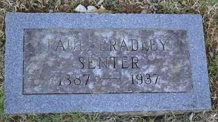 SENTER, PAUL BRADLEY - Sullivan County, Tennessee   PAUL BRADLEY SENTER - Tennessee Gravestone Photos