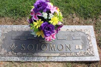 VAUGHN SOLOMON, JULIA - Sullivan County, Tennessee | JULIA VAUGHN SOLOMON - Tennessee Gravestone Photos