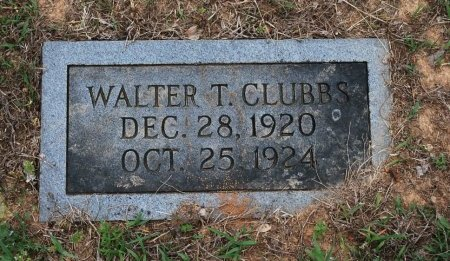 CLUBBS, WALTER THURMAN - Sumner County, Tennessee | WALTER THURMAN CLUBBS - Tennessee Gravestone Photos