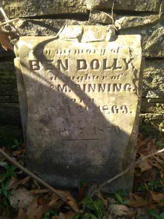 DINNING, BEN DOLLY - Sumner County, Tennessee | BEN DOLLY DINNING - Tennessee Gravestone Photos