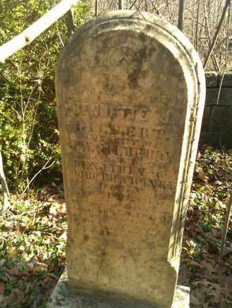 GILBERT, BENNETTE J. - Sumner County, Tennessee | BENNETTE J. GILBERT - Tennessee Gravestone Photos