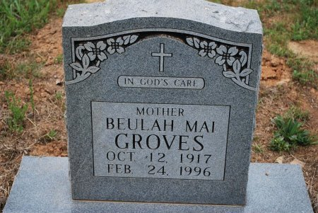 GROVES, BEULAH MAI - Sumner County, Tennessee | BEULAH MAI GROVES - Tennessee Gravestone Photos