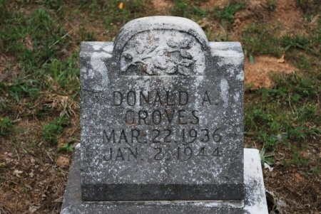 GROVES, DONALD ARTHUR - Sumner County, Tennessee | DONALD ARTHUR GROVES - Tennessee Gravestone Photos