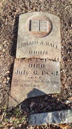 HALL, RICHARD A. - Sumner County, Tennessee | RICHARD A. HALL - Tennessee Gravestone Photos