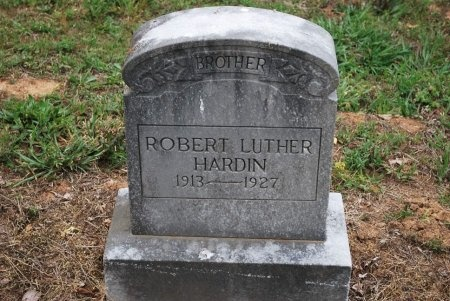 HARDIN, ROBERT LUTHER - Sumner County, Tennessee | ROBERT LUTHER HARDIN - Tennessee Gravestone Photos