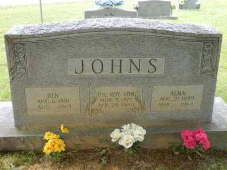 JOHNS, ALMA - Sumner County, Tennessee | ALMA JOHNS - Tennessee Gravestone Photos