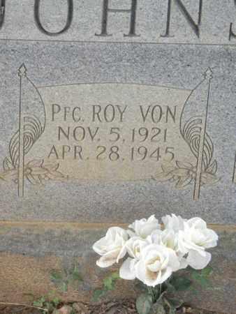 JOHNS (VETERAN), ROY VON - Sumner County, Tennessee | ROY VON JOHNS (VETERAN) - Tennessee Gravestone Photos