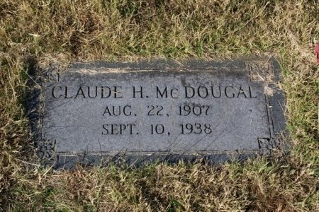 MCDOUGAL, CLAUD H. - Sumner County, Tennessee | CLAUD H. MCDOUGAL - Tennessee Gravestone Photos