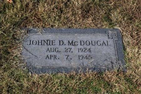 MCDOUGAL, JOHNIE D. - Sumner County, Tennessee   JOHNIE D. MCDOUGAL - Tennessee Gravestone Photos