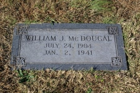 MCDOUGAL, WILLIAM J. - Sumner County, Tennessee | WILLIAM J. MCDOUGAL - Tennessee Gravestone Photos