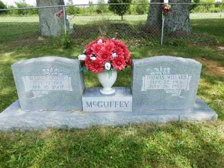 MCGUFFEY, BESSIE CARLENE - Sumner County, Tennessee | BESSIE CARLENE MCGUFFEY - Tennessee Gravestone Photos