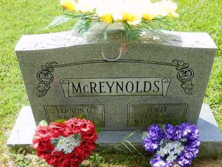 MCREYNOLDS, VERNON O. - Sumner County, Tennessee | VERNON O. MCREYNOLDS - Tennessee Gravestone Photos