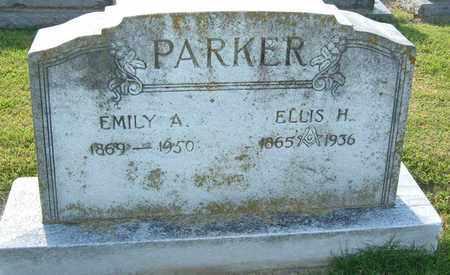 KIRKHAM PARKER, EMILY ALICE - Sumner County, Tennessee   EMILY ALICE KIRKHAM PARKER - Tennessee Gravestone Photos