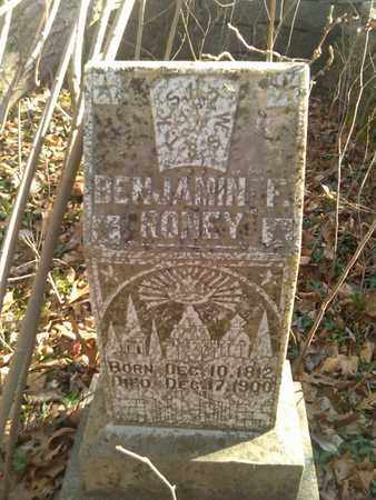 RONEY, BENJAMIN F. - Sumner County, Tennessee | BENJAMIN F. RONEY - Tennessee Gravestone Photos