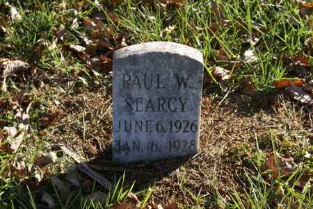 SEARCY, PAUL W - Sumner County, Tennessee | PAUL W SEARCY - Tennessee Gravestone Photos