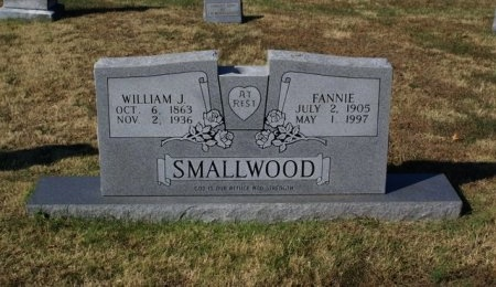 SMALLWOOD, FANNIE MAY  - Sumner County, Tennessee | FANNIE MAY  SMALLWOOD - Tennessee Gravestone Photos
