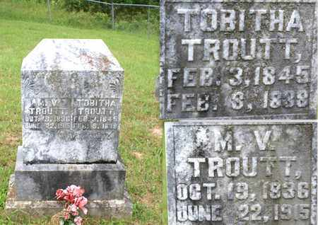 TROUTT, TOBITHA - Sumner County, Tennessee | TOBITHA TROUTT - Tennessee Gravestone Photos