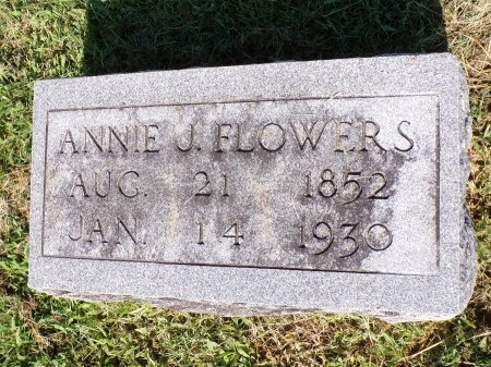 FLOWERS, ANNIE JANE - Tipton County, Tennessee | ANNIE JANE FLOWERS - Tennessee Gravestone Photos