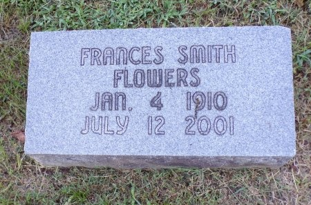 FLOWERS, FRANCES - Tipton County, Tennessee | FRANCES FLOWERS - Tennessee Gravestone Photos