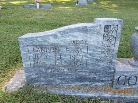 GOOKIN, SR, LANDON E (CLOSE UP) - Tipton County, Tennessee | LANDON E (CLOSE UP) GOOKIN, SR - Tennessee Gravestone Photos