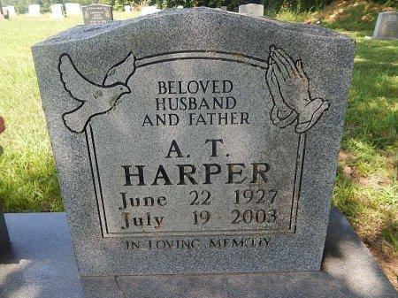 HARPER, A T - Tipton County, Tennessee   A T HARPER - Tennessee Gravestone Photos