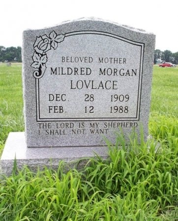 LOVELACE, MILDRED - Tipton County, Tennessee | MILDRED LOVELACE - Tennessee Gravestone Photos