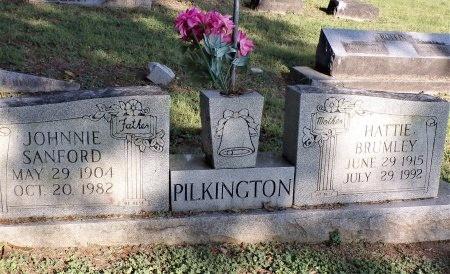PILKINGTON, JOHNNIE SANFORD - Tipton County, Tennessee | JOHNNIE SANFORD PILKINGTON - Tennessee Gravestone Photos