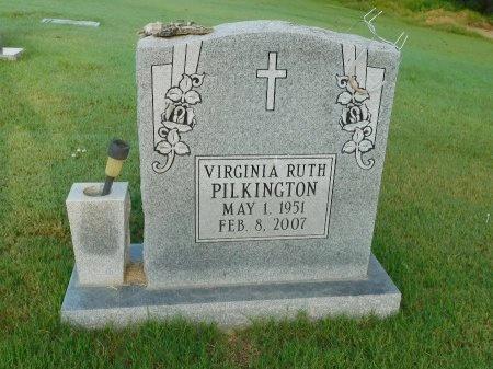 PILKINGTON, VIRGINIA RUTH - Tipton County, Tennessee | VIRGINIA RUTH PILKINGTON - Tennessee Gravestone Photos