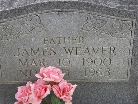 WEAVER, JAMES - Tipton County, Tennessee | JAMES WEAVER - Tennessee Gravestone Photos