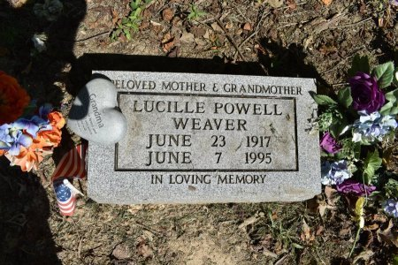 WEAVER, LUCILLE - Tipton County, Tennessee | LUCILLE WEAVER - Tennessee Gravestone Photos