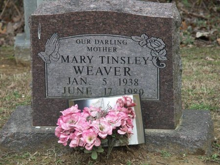 WEAVER, MARY - Tipton County, Tennessee | MARY WEAVER - Tennessee Gravestone Photos
