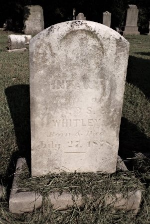 WHITLEY, INFANT - Tipton County, Tennessee | INFANT WHITLEY - Tennessee Gravestone Photos