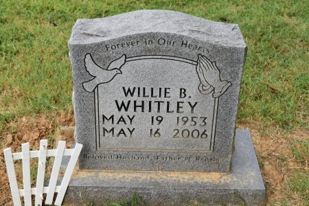 WHITLEY, WILLIE B - Tipton County, Tennessee | WILLIE B WHITLEY - Tennessee Gravestone Photos
