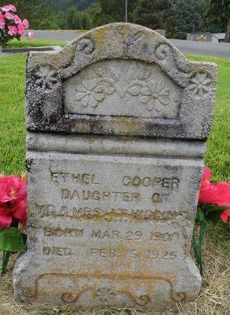 COOPER, ETHEL - Unicoi County, Tennessee | ETHEL COOPER - Tennessee Gravestone Photos